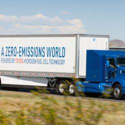 Toyota prepara en secreto un camión eléctrico alimentado por una pila de hidrógeno