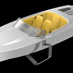 Edorado 7S Hidroplano : nueva embarcación eléctrica, rápida y revolucionaria
