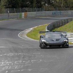 El McLaren P1 LM híbrido mejora el récord del NIO EP9 en Nürburgring (vídeo)