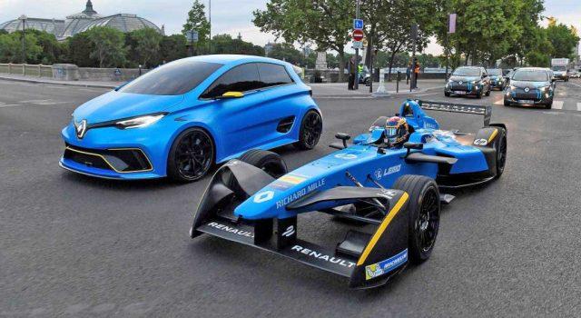 El Renault ZOE eSport se cita con la Fórmula E en París