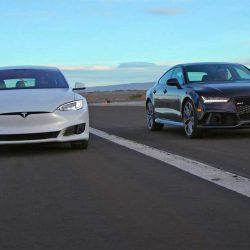 Saltan las alarmas entre los fabricantes europeos. El Tesla Model S ha superado en ventas por primera vez a sus rivales alemanes