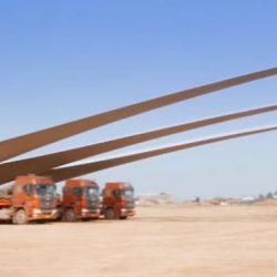 Lo Mejor de la Semana en DiarioRenovables. Vuelta al mundo con renovables, Impresionante transporte de palas de aerogenerador, Tesla integra SolarCity…