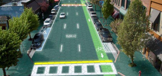 Investigan una carretera que se repara sola, y que además puede recargar las baterías de los coches eléctricos