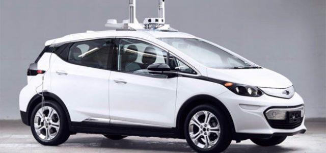 Nuevo vídeo del sistema de conducción autónoma del Chevrolet Bolt. Conducción nocturna