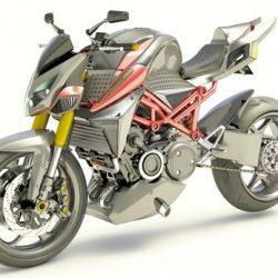 La primera moto híbrida con motor rotativo se llama Furion M1