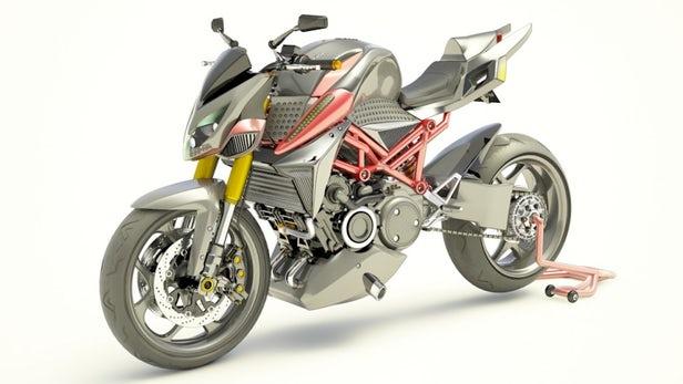 5feab7a3d74 Furion ha decidido diseñar la moto Naked de elevadas prestaciones M1 con  motor rotativo Wankel y otro eléctrico para la hibridación y bajar consumos.