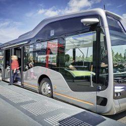 Mercedes comenzará la producción de su autobús eléctrico en 2018
