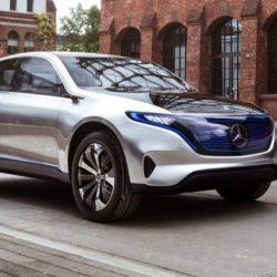 Primeras pruebas del Mercedes EQ. Sistema modular con posibilidad de diferentes configuraciones de motores…y baterías