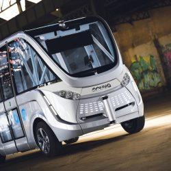¿Cuánto cuesta alquilar un autobús eléctrico y autónomo? Precio del Navya Arma