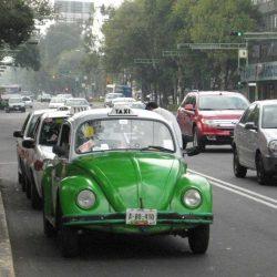 Ciudad de México se prepara para empezar la transformación de su gigantesca flota de taxis con el coche eléctrico de Carlos Slim