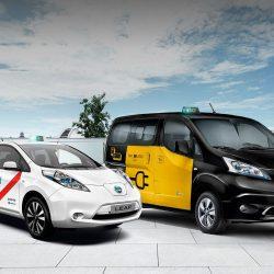 Los taxis eléctricos de Nissan demuestran en todo el mundo que son una alternativa real y sostenible