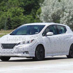Nuevas fotos del Nissan LEAF de nueva generación. Exterior y también primera imagen del interior