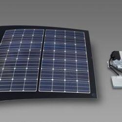 Según Panasonic, el techo de los coches eléctricos tienen el potencial de convertirse en un nuevo mercado para los paneles solares