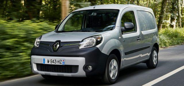 Nueva Renault Kangoo ZE. Batería de 33 kWh, 270 kilómetros de autonomía, y sin subida de precio