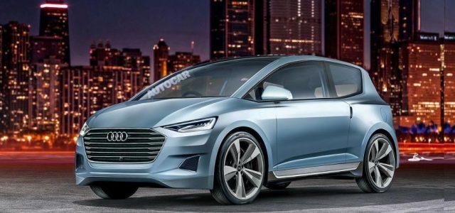 Audi prepara un coche eléctrico de pequeñas dimensiones, y autónomo, que llegará en 2021