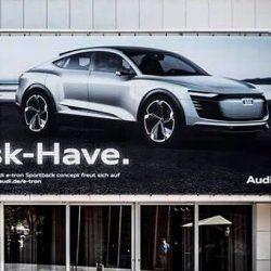 Audi hace referencia a Musk en el último anuncio de su próximo e-tron Sportback