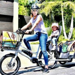 Cero ONE. Un bicicleta eléctrica con amplia capacidad de carga, y una autonomía de 150 kilómetros
