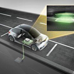 Continental muestra un sistema de recarga inalámbrica de hasta 11 kW