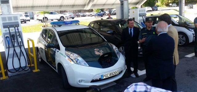 Se pone en marcha la electrolinera de la Granja de Segovia. Recarga de coches eléctricos con energías renovables, y gratis