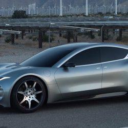Filtrada la imagen del Fisker EMotion. Una espectacular berlina eléctrica con batería de grafeno y 640 kilómetros de autonomía
