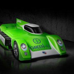 Panoz GT-EV. Un coche eléctrico con batería extraíble para Le Mans