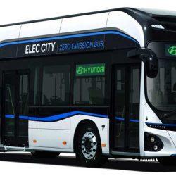 Hyundai presenta un autobús eléctrico urbano. 256 kWh y 290 kilómetros de autonomía