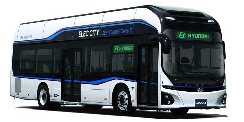 Autobús eléctrico de Hyundai