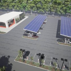 Tesla prepara en Noruega la mayor estación de Supercargadores de Europa