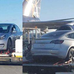Primer Tesla Model 3 avistado fuera de Estados Unidos