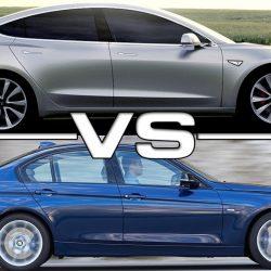 El Tesla Model 3 podría vender más en Estados Unidos, que sus rivales de BMW, Audi, Mercedes y Lexus…juntos