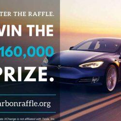 Participa en esta rifa, ayuda a luchar contra el cambio climático, y puedes llevarte un Tesla Model S