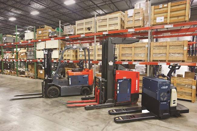fuel cell electric forklift