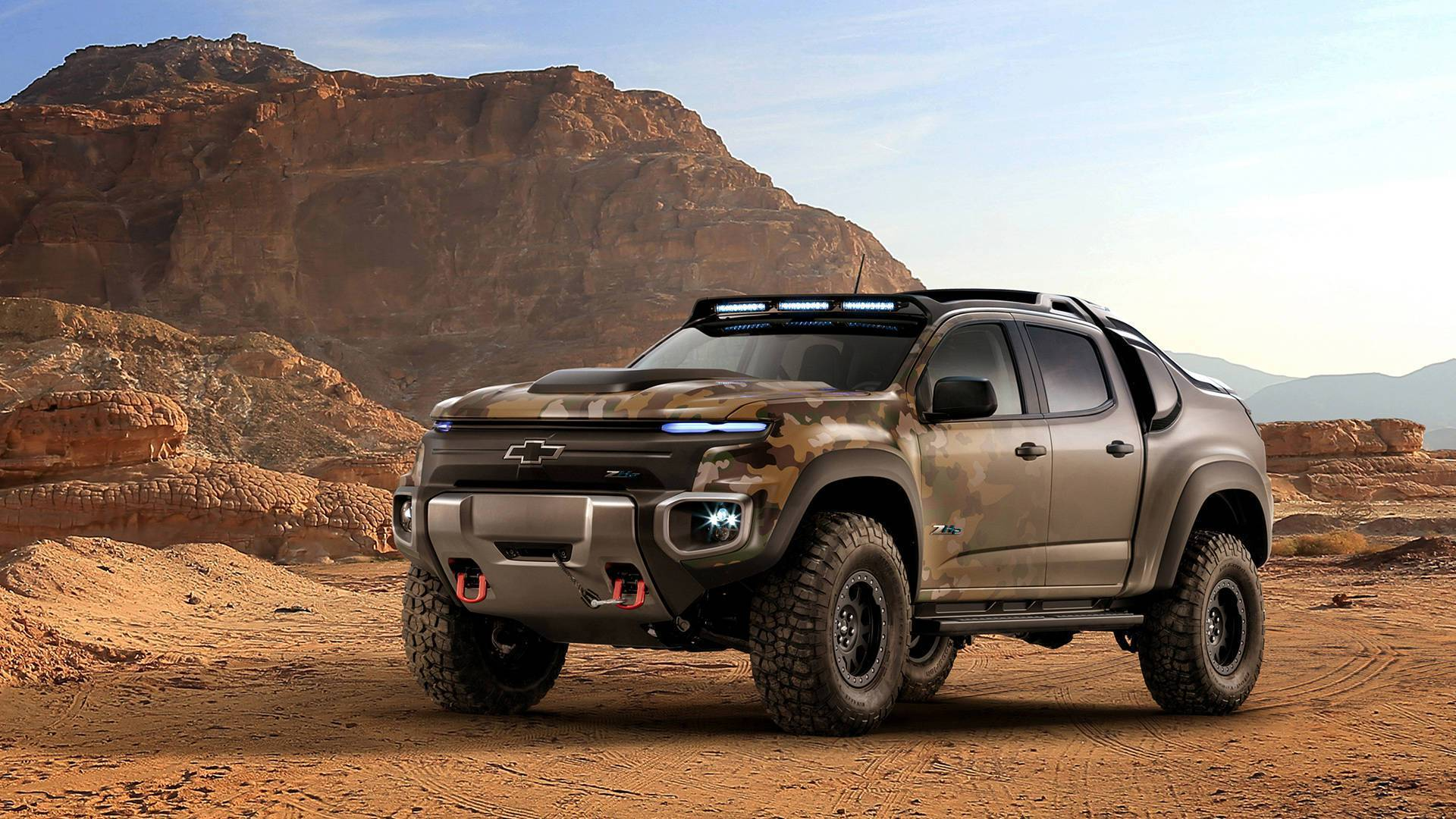 chevrolet colorado ZH2 hidrogeno