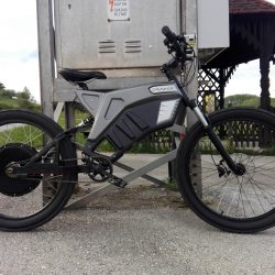Grunner E-Bike, Bicicleta eléctrica de elevadas prestaciones y autonomía de hasta 180 kilómetros