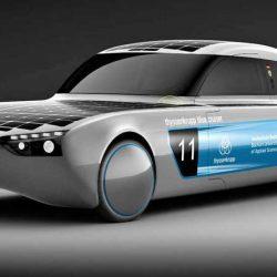 Blue Cruiser. El primer coche eléctrico y solar, que realmente puede llamarse coche