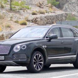 El Bentley Bentayga híbrido enchufable ya está en fase de pruebas
