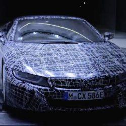 Primeras imágenes del BMW i8 Spyder. Llegada en 2018 con novedades a nivel técnico