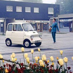 Se cumplen 50 años del proyecto Ford Comuta. Un pequeño coche eléctrico fabricado en 1967, capaz de recorrer 64 kilómetros