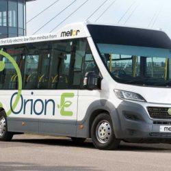 Mellor Orion E. Un microbús eléctrico que llegará a finales de 2017