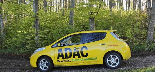Resultados de la prueba de larga duración de ADAC con el Nissan LEAF. Degradación de la batería y autonomía real