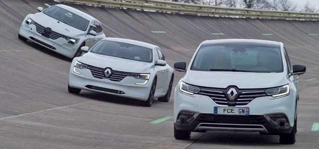 Renault Talisman y Space como base de pruebas para los futuros sistemas eléctricos y autónomos