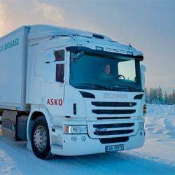 Scania comienza sus pruebas con camiones a hidrógeno en Noruega
