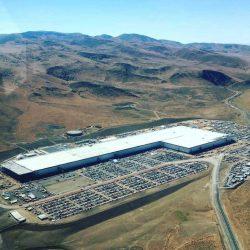 Las últimas fotos aéreas de la Gigafábrica de baterías de Tesla, muestra los avances y la actividad para atender a la producción del Model 3