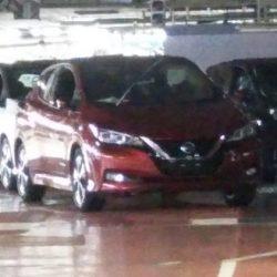 Más fotos del LEAF de nueva generación. Nissan confirma la venta de la división de baterías