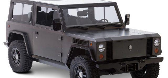 Bollinger Motors muestra el B1 Off-Roader. Un 4×4 eléctrico preparado para las condiciones más duras