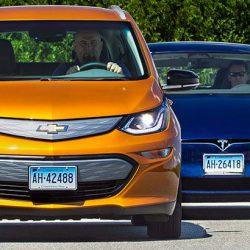 Consumer Reports lleva al Chevrolet Bolt hasta los 402 kilómetros de autonomía real. 24 kms más que el Tesla Model S 75D