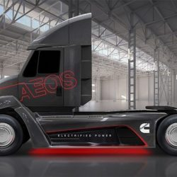 Cummins presenta un camión eléctrico con posibilidad de llevar un extensor de autonomía
