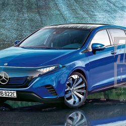 Primeros datos y renders del Mercedes EQ-A. Motor de 150 kW, batería de 60 kWh, precio desde 40 mil euros…