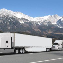 """Tesla solicita los permisos para poder probar su camión eléctrico en modo autónomo, usando los """"trenes de carretera"""""""