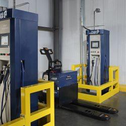 Las carretillas elevadoras de pila de combustible despegan en el sector logístico